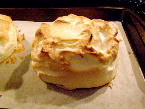 Finished Baked Alaska