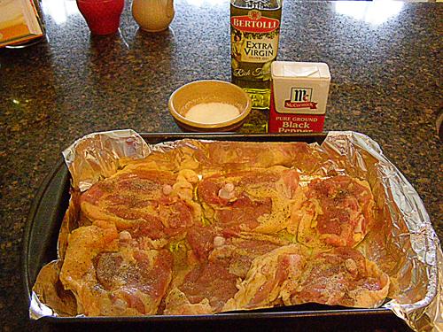 salsachicken_firststep