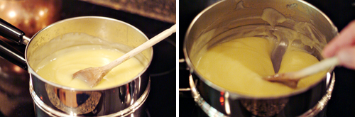 Add eggs to filling mixture for Classic Lemon Meringue Pie