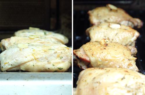 Orange Rosemary Grilled Chicken