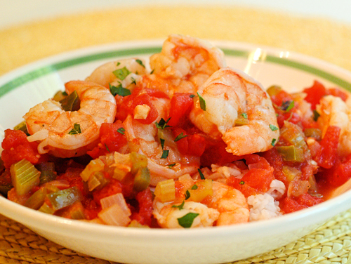 Shrimp creole makes a healthy main dish